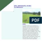 Investigacion de Suelos y Climas de Hidalgo