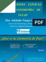 Aplicaciones Clinicas de La Citometria de Flujo