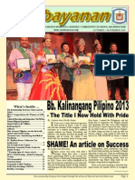Sambayanan Newsletter 2013 (October - November)