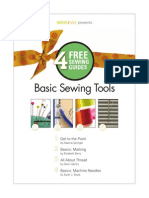 Basic Sewing Tools