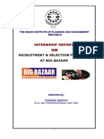 49644907 HR Recruitment and Select Big Bazaar 1