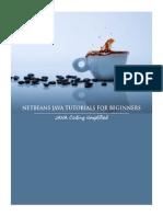 Java Netbeans Tutorials for beginners