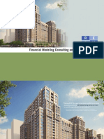 Real Estate Financial Modeling Consulting and Auditing Service Brochure