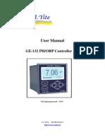 User Manual of GE-132 PH OPR Analyzer Monitor Meter