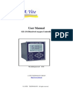 User Manual of Dissolved Oxygen Analyzer Monitor Meter
