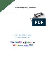 GE-920 Air Differential Pressure Transmitter