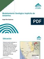 Modelamiento Geologico Implicito de Antamina