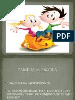 Palestra sobre a relação Família - Escola.1