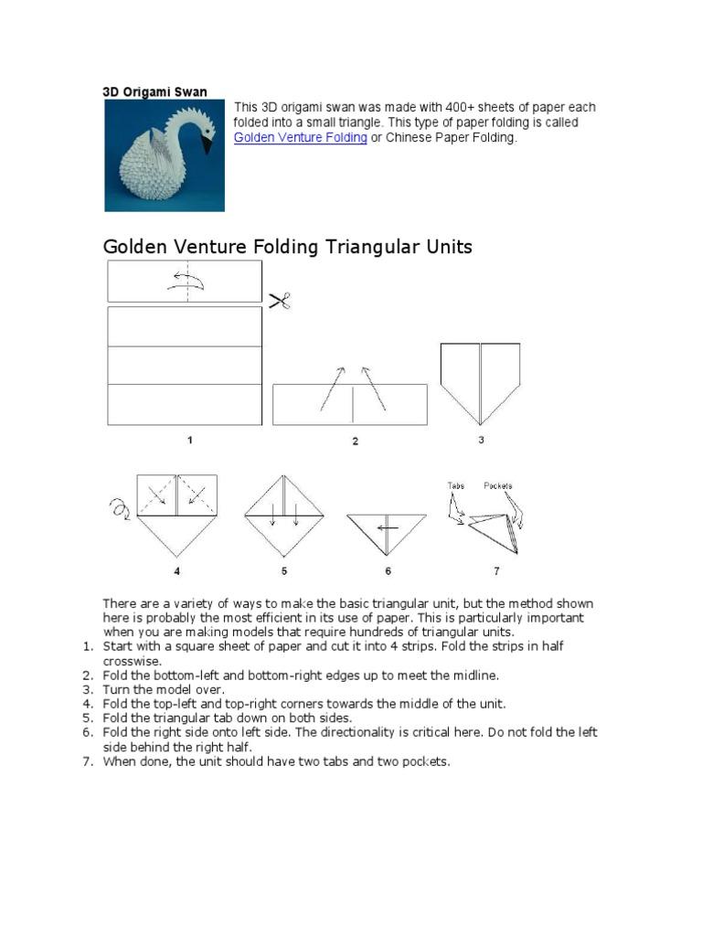 origami paper folding wood products rh es scribd com Huge Golden Venture Folding Huge Golden Venture Folding