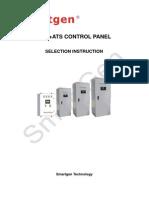 AMF+ATS Control Panel smart gen