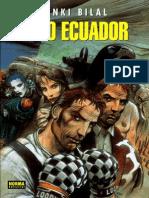 Enki Bilal - Frío Ecuador