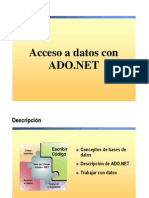Acceso a Datos en Visual Basic .NET Con ADO.net