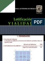 Lotificación y Vialidades