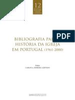 Bibliografia História Igreja Portugal (1960-2000)