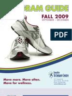 TLC Fall 2009 Program brochure