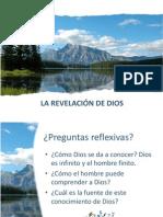 LA REVELACIÓN DE DIOS