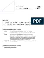Fogo Island Dialogues
