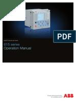 615 Series Operation Manual_E