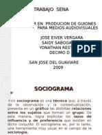 DIAPOSITIVA  DE SOCIOGRAMA