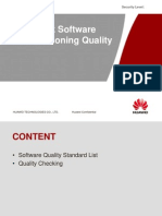 Check Software Commissioning Quality(RTN600)