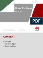 NE Login and Board Configure
