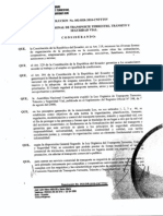 Reglamento de Servicio042010