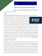 LA EDUCACIÓN DE JOVENES EN EL FUTURO (2030) LOS APRENDIZAJES a debate