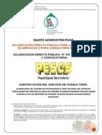 Bases de La Irrigacion Taccata - Umasi - Chacralla - Pescs Noviembre 2013