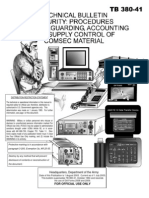 Tb 380-41 Security Procedures for Safeguarding, Accounting and Supply Control of Comsec Material
