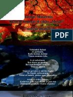 Mačernio  7 rudens soneto analizė