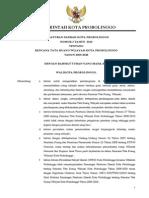 Peraturan Daerah Kota Probolinggo Nomor 2 Tahun 2010 tentang Rencana Tata Ruang Wilayah Kota Probolinggo Tahun 2009-2028
