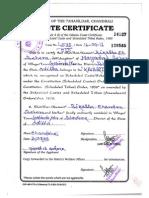 cast certificate