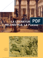 literatura helenística