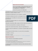 DOCUMENTACIÓN NECESARIA PARA INICIO DE SUCESION