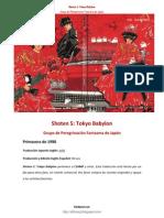 [SB] SHOTEN 5 Tokyo Babylon Introducción y Escena I