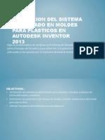 Moldflow simulation en inventor