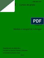 Medida de Lebesgue