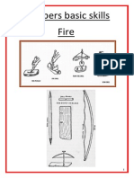 Preppers Basic Skill - Fire