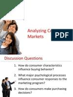 Analysing Consumer Behaviour