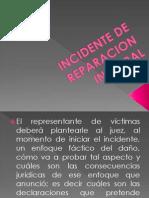 INCIDENTE DE REPARACION INTEGRAL.ppt