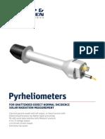 KippZonen Brochure Pyrheliometers