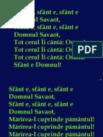 046 Sfant e Domnul Savaot