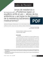 Los Mecanismos de Resistencia a Antibioticos