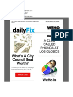 DailyFix Newsletter