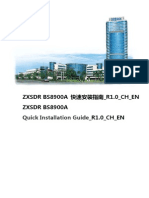 ZXSDR BS8900A Quick Installation Guide_R1.0_CH_EN