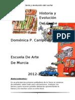 HISTORIA Y EVOLUCIÓN DEL COCHE