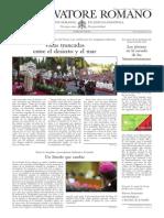 L´OSSERVATORE ROMANO - 08 Noviembre 2013