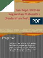 Asuhan Keperawatan Kegawatan Maternitas (Perdarahan Postpartum)-1