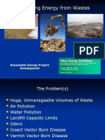 Revised Waste to Energy General Presentation - August 7, 2009 - V10.0