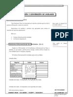 Guía Nº 5 - Medición y Conversión de Unidades